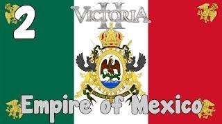 Victoria 2 HFM mod - Empire of Mexico 2