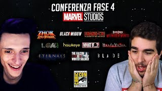 "ZANO & JIMMY | Conference Marvel ""Phase 4"" - REACTION"