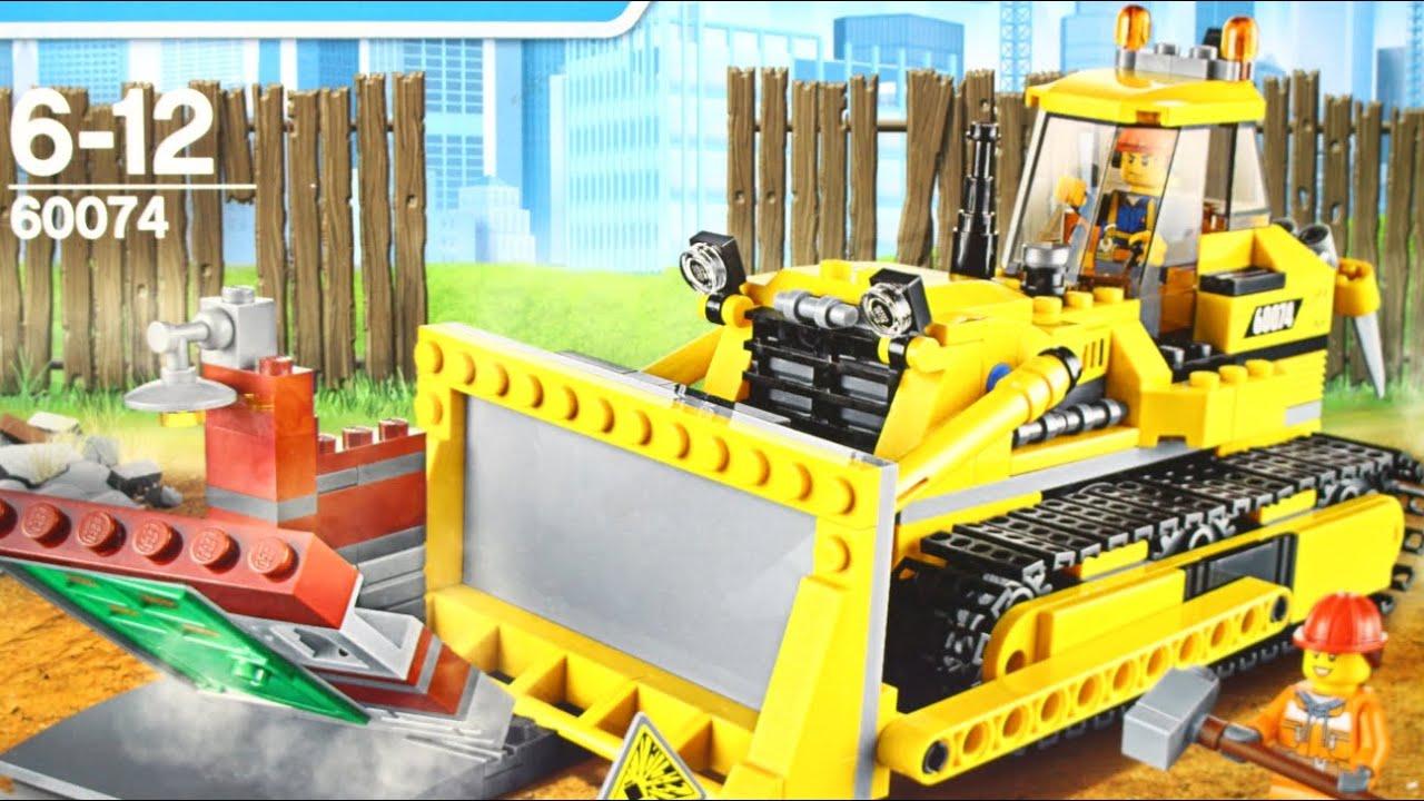 Лего Снос Старого Здания 60076. Сборка и обзор конструктора. Поход .