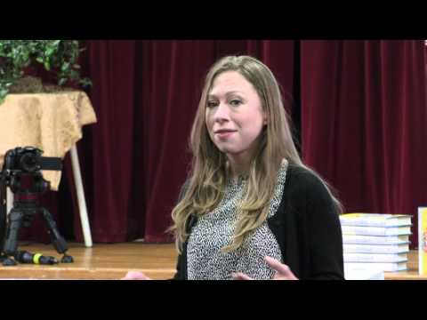 Chelsea Clinton Visits Martin Luther King Jr. Middle School
