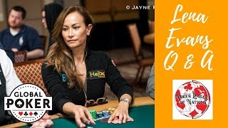 Facebook Live Q and A with Lena Evans of Poker League of Nations