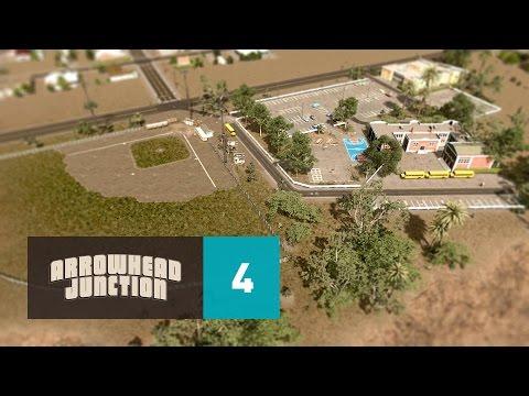 Cities Skylines: Arrowhead Junction - Part 4 - Zamora Highschool