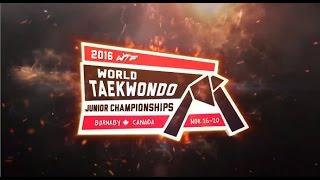 [Highlights] 2016 WTF WORLD TAEKWONDO JUNIOR CHAMPIONSHIPS
