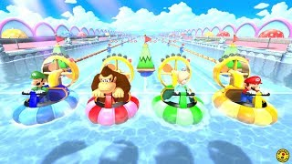 Mario Party 10 - Airship Central (Mario Party 10 All Characters - Mario Party Mode)