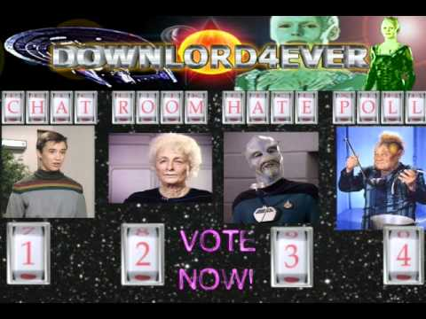 Downlord Downlord4ever Sebastian Kunz Star Trek Hate Poll