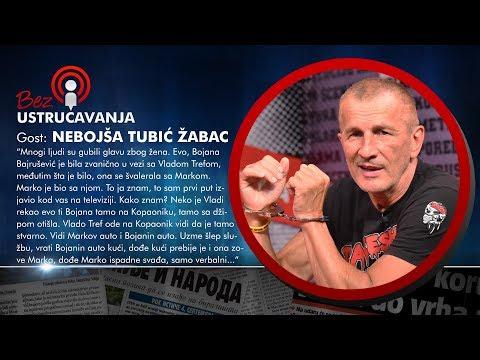 BEZ USTRUČAVANJA - Nebojša Tubić Žabac: Marko Milošević je naručio ubistvo Vlade Trefa!