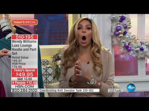 HSN | Wendy Williams Fashions 12.09.2016 - 12 PM