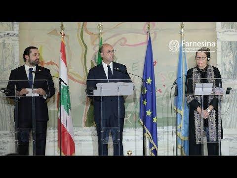LEBANON: BUILDING TRUST - ROME, MARCH 15th 2018