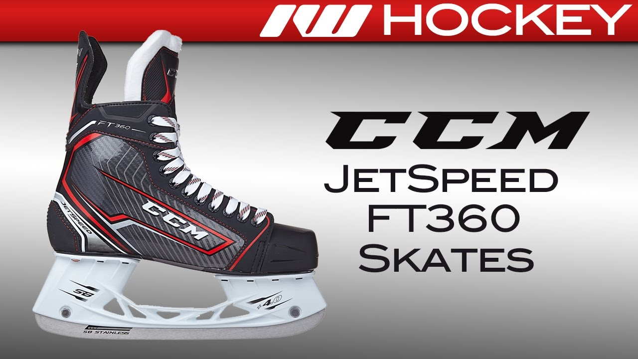 0eced7ac9f3 CCM Jetspeed FT360 Skate Review. Ice Warehouse