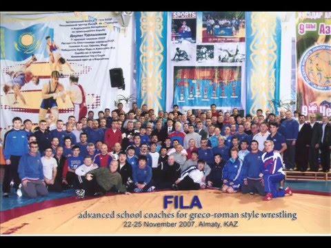 Kstan Plus-FILA Advanced Coaches Clinic in Greco Roman Wrestling, Almaty 2007