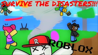 SURVIVE THE DISASTERS!!! [Roblox With JavierHD806 and (some coughing)]