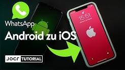 WhatsApp Chat Backup von ANDROID zu iPHONE übertragen!