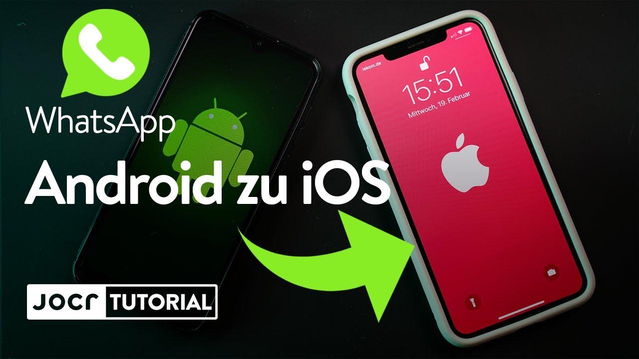Whatsapp Von Android Zu Iphone
