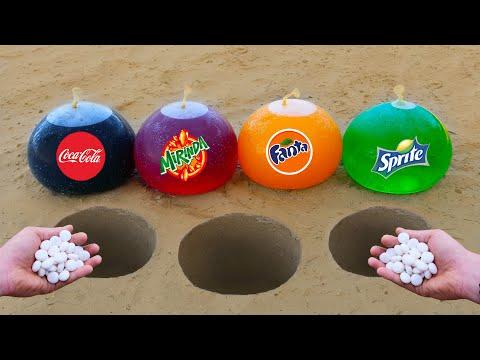 Experiment: Cola, Sprite,