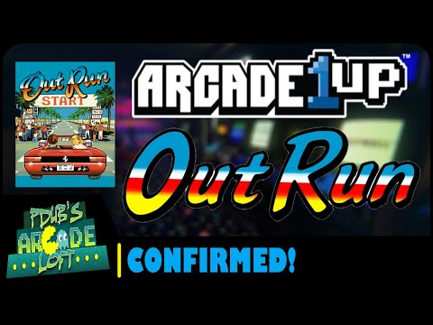 Arcade1Up Out Run Cabinet Confirmed & Costco Super Pac-Man Fix! from PDubs Arcade Loft