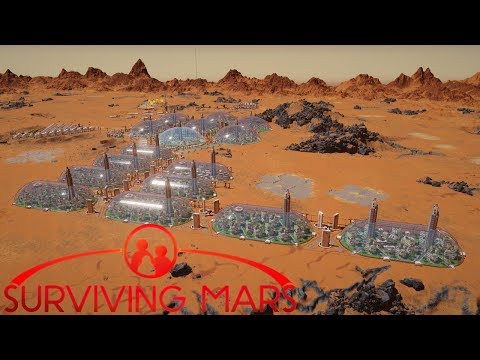 [28] The Oval Dome Grid | Surviving Mars