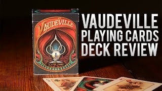 Deck Review - The Vaudeville Deck by The Blue Crown