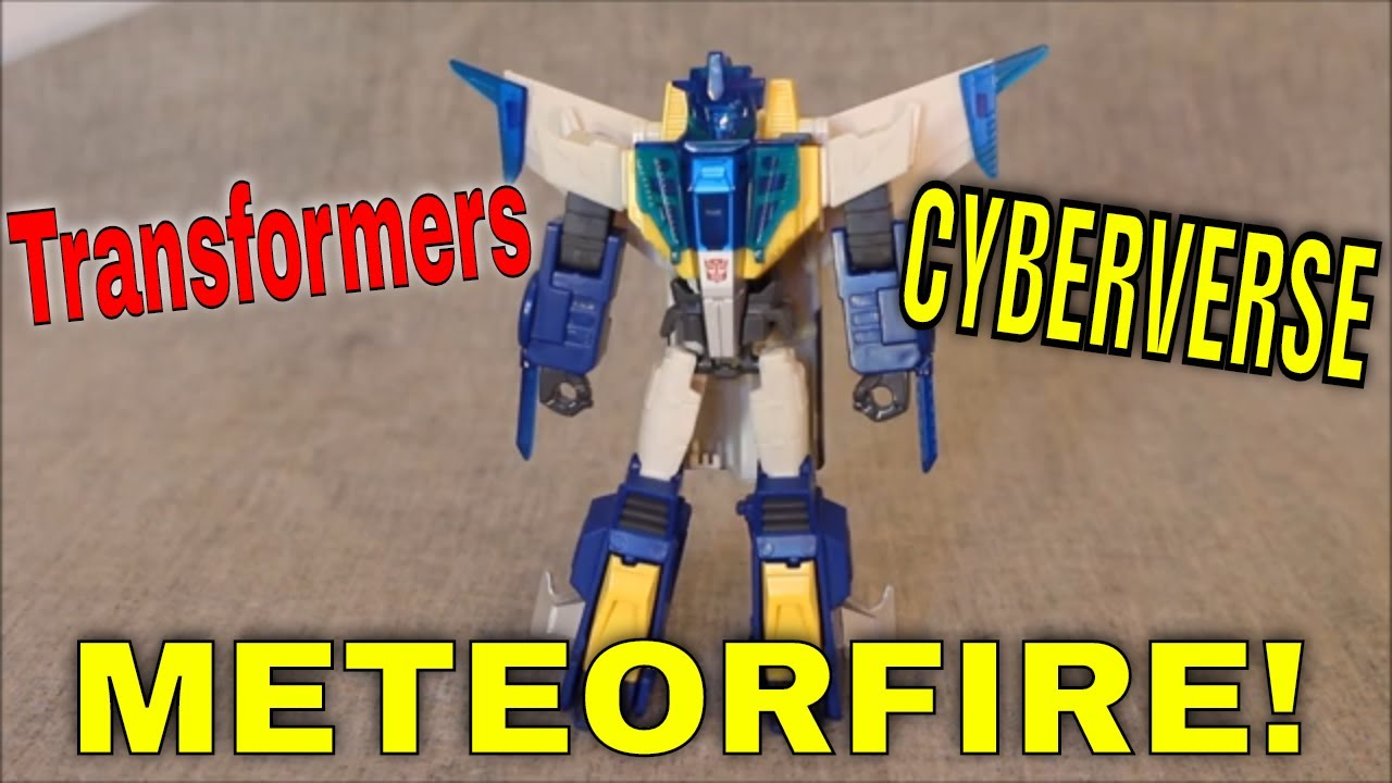 Aliens Beware!: Transformers Cyberverse Battle Call Meteorfire By GotBot