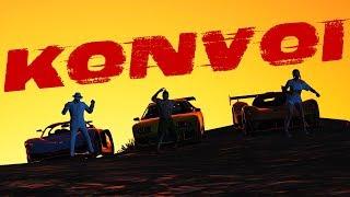 KONVOI KERETA KAYA! - GTA 5 Online (Malaysia) bersama TEAM FIRES