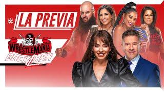 Watch WWE La Previa Wrestlemania Backlash 5/14/21