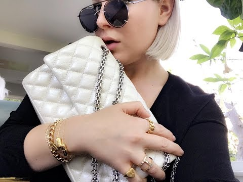S63 AMG WHITE CHANEL BAG & MORE