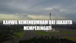 Kanwil Kemenkumham DKI Jakarta Turut serta Memperingati  Hari Lahir Pancasila.