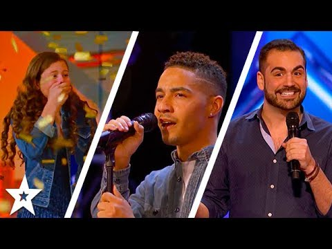 Thumbnail: America's Got Talent 2017 Week 6 Auditions | Golden Buzzer Angelina Green, Brandon Rogers & More!!