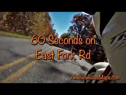 Motorcycles on East Fork Rd - Oct 23
