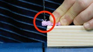 Bohr ein Loch in den Lego-Stein. Damit löst du dieses nervige Alltagsproblem.