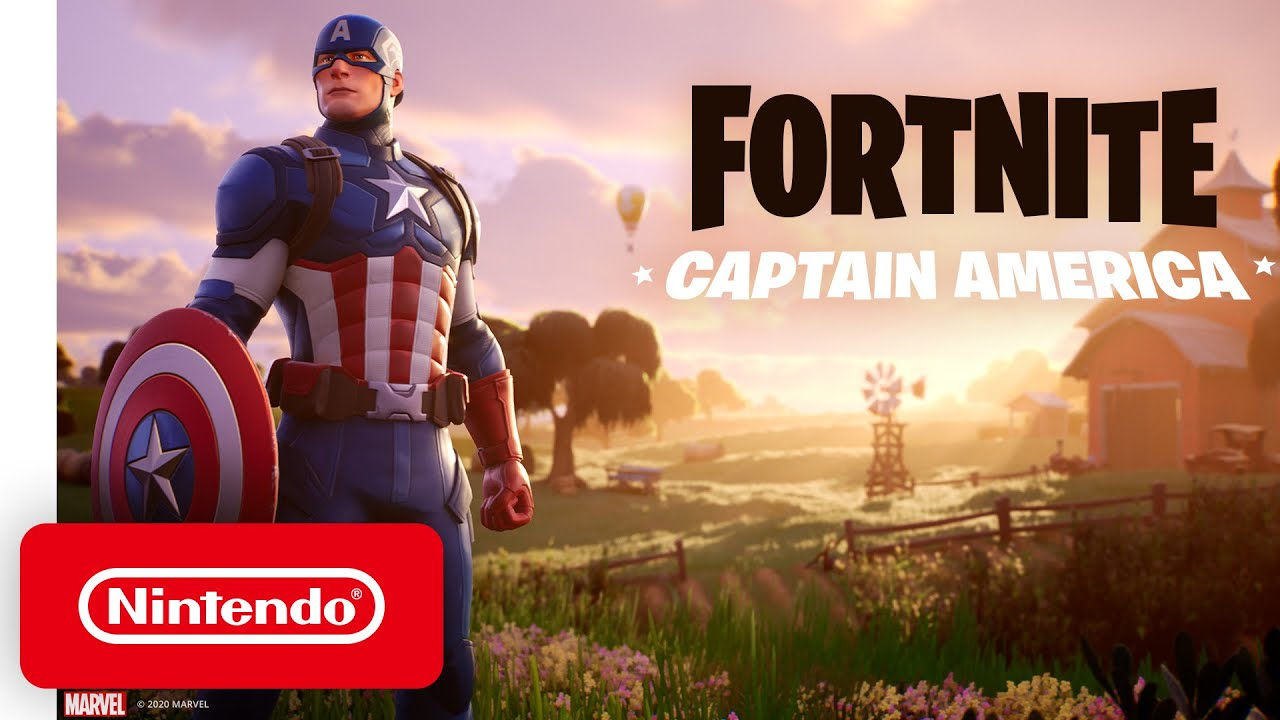 Captain America Outfit Trailer για το Fortnite