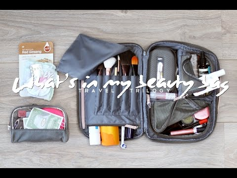 What's in my Travel Beauty Bag - Travel Trilogy