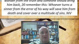Lesson 27  James 5:19-20  December 23, 2020