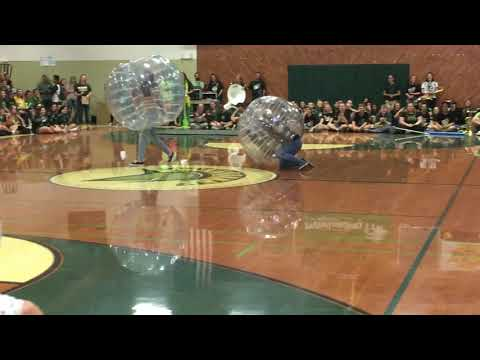 ManaBall at Red bluff High School's Home Coming Rally!