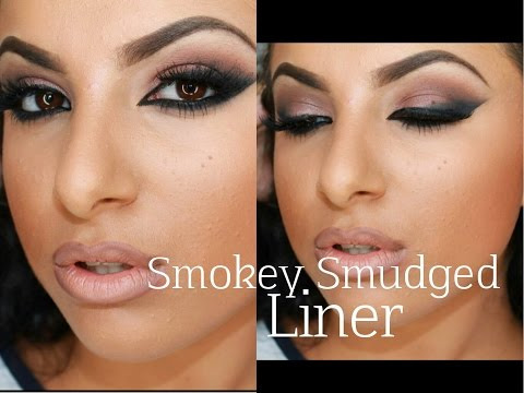 Smokey Smudged Liner; FULL FACE | Makeup By Leyla