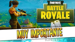MUY IMPORTANTE | COMUNICADO OFICIAL DE EPIC GAMES | Admiten un error en Fortnite