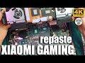 How to repaste Xiaomi Gaming Laptop ⚡ Thermal grease kryonaut Long Story