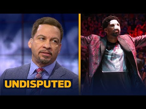 Chris Broussard on Joel Embiid: 'I just wouldn't rush him back' | UNDISPUTED