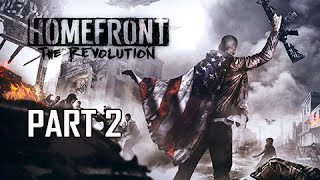 Homefront The Revolution Walkthrough Part 2 - Revolt! (PC Ultra Let