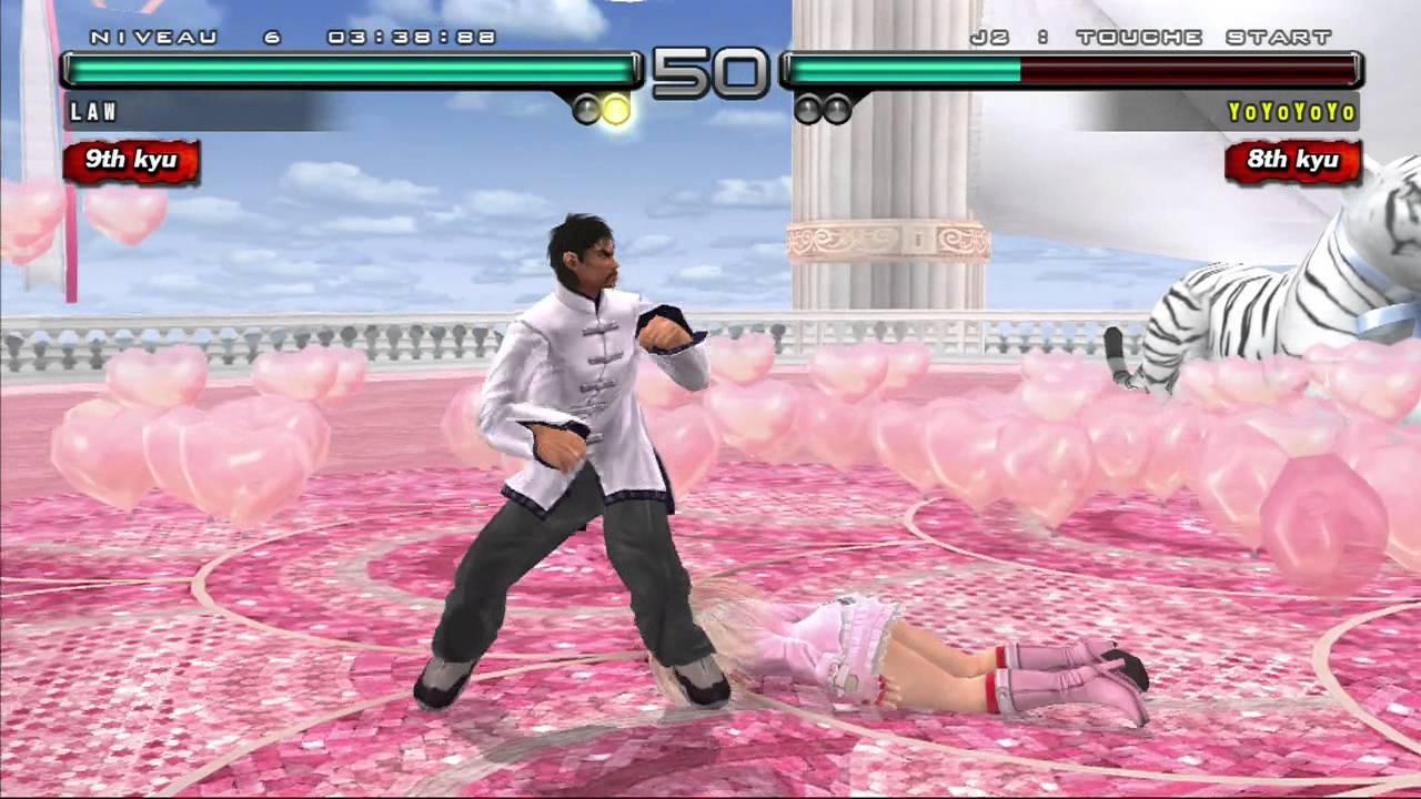 Marshall Law Dans Le Mode Arcade Tekken 5 Dark Resurrection