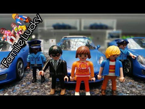 Playmobil Film deutsch Polizei Verfolgungsjagd Porsche 911 - Kinderfilm  Familie Lucky