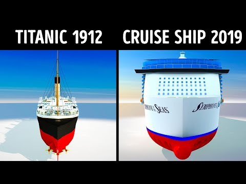 The Man Cave - Titanic vs Modern Cruise Ships