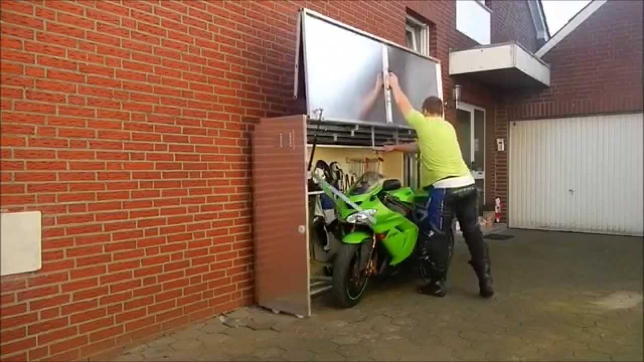 Cool Motorcycle Storage