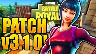 *NEW* FORTNITE PATCH NOTES v3.1.0! 1.45 PATCH NOTES FORTNITE NEW HUNTING RIFLE AND MORE!