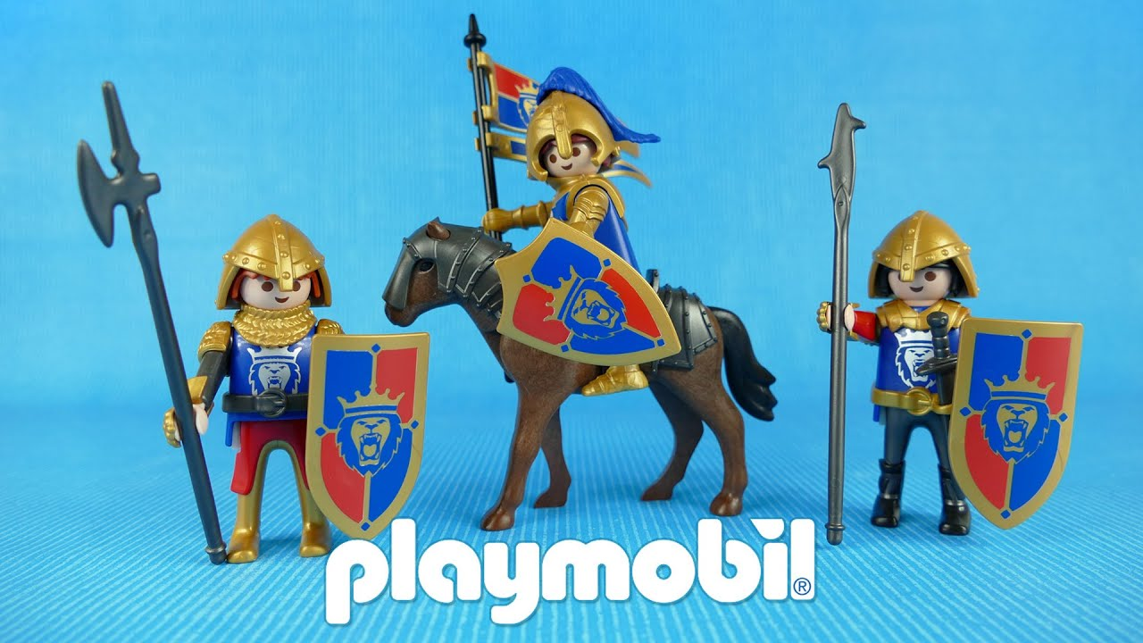 Knights share the royal princess