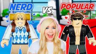 NERD VS POPULAR BOY IN BROOKHAVEN! (ROBLOX BROOKHAVEN RP)