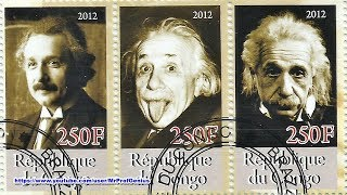 I'm so glad can have Albert Einstein stamps, because i'm a great ad...