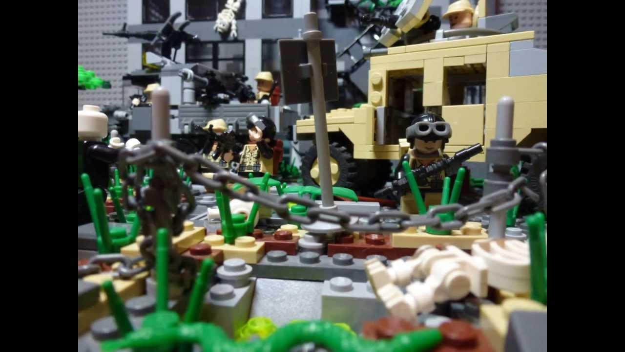 LEGO Zombie Apocalypse Moc: Infected World - YouTube