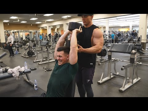 HOW TO GET MASSIVE ARMS!! w/ Steve Cook