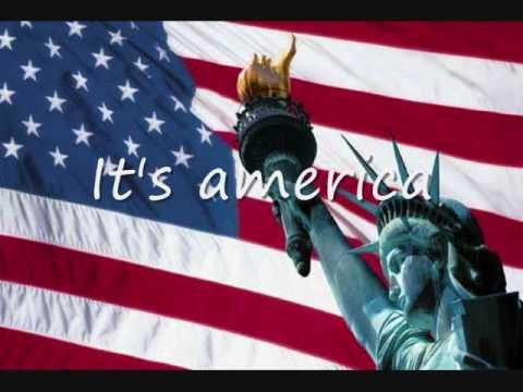 It's America by Rodney Atkins with lyrics