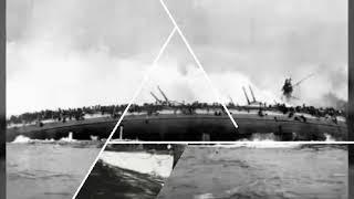 Во время Первой мировой войны происходили страшные катастрофы на воде